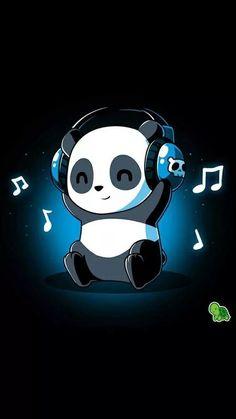 Cute Panda Wallpaper, Bear Wallpaper, Cute Disney Wallpaper, Wallpaper Iphone Cute, Cute Bunny Cartoon, Cute Cartoon Drawings, Cute Kawaii Drawings, Cute Panda Drawing, Cute Love Wallpapers