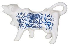 Delft-Style Cow Creamer on OneKingsLane.com