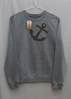 Leather Anchor Jumper