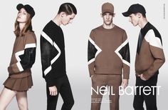 Neil Barrett A/W '13 campaign | photography: Daniel Jackson, styling: Robbie Spencer | http://www.mapltd.com/artist/danieljackson/