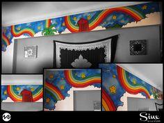 Slim wall Mural - 2012