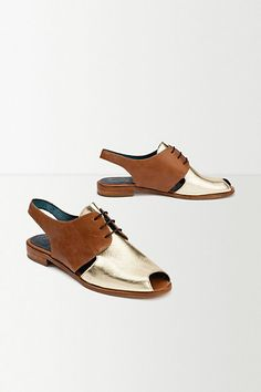 Mus & Roew Slingback Brogues #anthropologie #AnthroFave