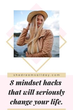 Learn how to master your mindset and change your mindset for the better. If you want to live your best life, be happier overall and achieve more - you need to get your mindset on right. Start by implementing these mindset hacks today! #personaldevelopment #positivemindset