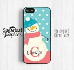 Frosty The Snowman Personalized Monogram by SugarloafGraphics, $15.95