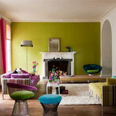 A color like Devine Pistachio Lime for grown-ups who love retro...  Tricia Guild