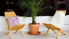 Create a charming alfresco oasis with our space-saving tips.
