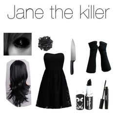 """Jane The Killer outfit!"" by unicornicon on Polyvore"