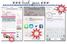 wanesia: Il tuo blog con l´icona personalizzata su Iphone
