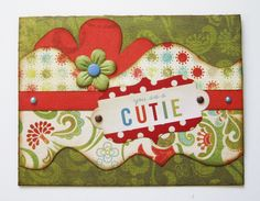 Designed by Debbie Budge using Thoughtful, Tiny Strips, Tiny Wildflower