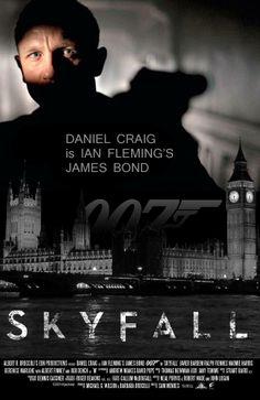 Skyfall - James Bond movie Artwork by jackiejr #jamesbond #007