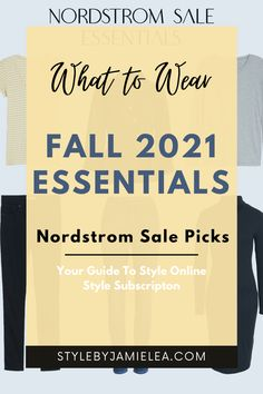 What to Wear for Fall Essentials, How to Style Fall Essentials, Fall 2021 Essentials From The Nordstrom Anniversary Sale. Essentials for Your Wardrobe, Everyday Fall Essentials, How to Dress With Fall Essentials, Fall Essentials For Over 40, Fall Essentials For Over 50, Fall Essentials To Wear In Your 20's and 30's, Fall Essentials For Any Age, Outfit Ideas With Fall Essentials, How to Add Trends To Fall Essentials, Simple Outfit Ideas, Mix and Match, What to Wear Over 40, What to Wear Over 50 Winter Wardrobe Essentials, Wardrobe Basics, What To Wear Fall, How To Wear, Winter Basics, Essential Wardrobe, Solid And Striped, Build A Wardrobe, Cold Weather Fashion