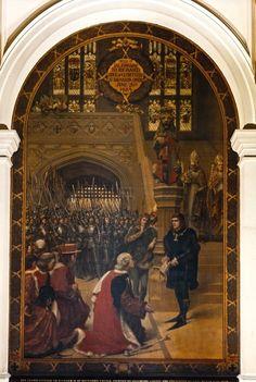 24. The Crown offered to Richard III at Baynard's Castle Richard Iii Play, King Richard 111, Asian History, British History, Anne Neville, Aneurin Barnard, Tudor History, Uk History, History Facts