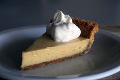 Key LimePie - i freakin love key lime pie. now i need to learn how to make it!