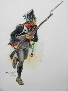 SOLDIERS- Courcelle: NAP- Prussia: 2ème régiment prussien en 1815, by Patrice Courcelle.