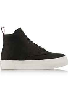 Eytys Odyssey nubuck high-top sneakers | NET-A-PORTER