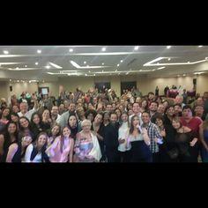 Así estuvo la función de #AmoresDeBarra #ÉsteSáb24/10 en el @eurobuildgpzo. Graciiiias por sus risas ,afecto y reconocimiento a nuestro trabajo como intérpretes ¡¡  #gracias #pzo #pzocity #5AñosY2MesesDeFuncionesIninterrumpidas