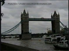Tower Bridge London, England.  London's Tower Bridge is one of the most recognizable bridges in the world. Its Victorian Gothic style stems from a law that forced the designers to create a structure that would be in harmony with the nearby Tower of London.