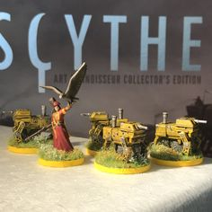 Scythe Crimean Khanate Painting Tutorial