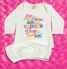 NEW ITEM Embroidered Saying After Every Storm by BUniqueDeZigns, $20.99