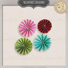 Flowers Pack 34 by #valentina #theStudio #flowers #digiscrap #cu