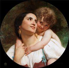 Information about the painting, location, other paintings of the artist. Saint Joan Of Arc, St Joan, Architecture Tattoo, Art And Architecture, William Adolphe Bouguereau, Pierre Auguste Renoir, Old Master, Mother And Child, Mothers Love