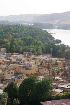 Village on Elephantine Island |  Elephantine Island, Aswan, Egypt.