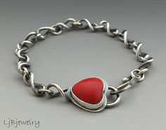 Red | Flickr - Photo Sharing! Red turquoise howlite by LjBjewelry