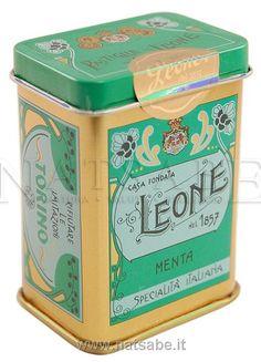 Le pastiglie Leone, nate ad Alba 150 anni fa.