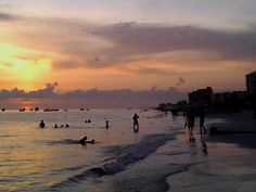Sunset along the Gulf of Mexico in Madeira Beach,FL  12