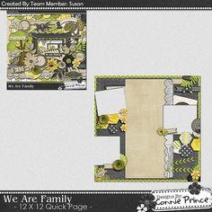Scrapbooking TammyTags -- TT - Designer - Connie Prince, TT - Item - Quick Page