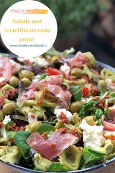 Pasta Salad Recipes, Veggie Recipes, Healthy Recipes, Veggie Food, Tapas, Pasta Salad Italian, Happy Foods, Italian Recipes, Love Food