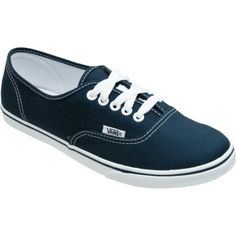 The Vans Authentic Lo Pro Shoe gives authentic Vans style, but just for the ladies - 45% off - #redwhiteandBLUE