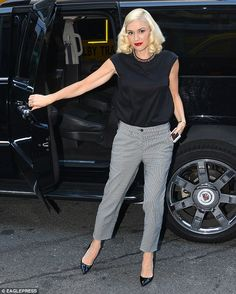 Gwen Stefani reveals her eldest boy Kingston prayed for a sibling #dailymail