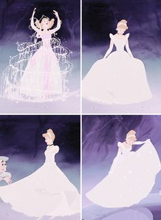 Pinning this because today is the 49th anniversary of the day Walt Disney passed. He claimed the Cinderella transformation to be his favorite scene in all animation.