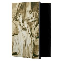 The Letter (Spanish Conversation) by Fragonard Cover For iPad Air