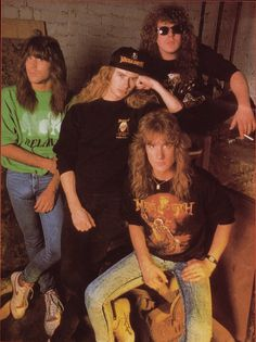MEGADETH - 1988 Metal Forces magazine #29