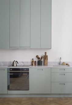 Is To Me | Interior inspiration | Mint green kitchen