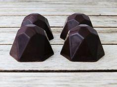 Chokolader med jordbærkaramel