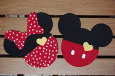 Perfect Fit Iron On Heart and Pants Mickey Mouse by ShannaRaeH. $7.00 USD, via Etsy.