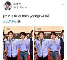 He has been for a long time... he grew since debut since he was in the late years of puberty but yoongi was already his final height it's just that nobody dares to pick on yoongi. Their difference is almost unnoticeable tho so minnie was probably wearing some sort of insoles