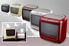 Retro Countertop Microwave By Whirlpool