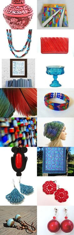 Multi Color - 10% Off All Featured Shops  by Joy on Etsy--Pinned with TreasuryPin.com