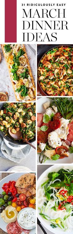 31 Ridiculously Easy Dinners to Make Every Night in March  #purewow #easy #recipe #dinner #cooking #food