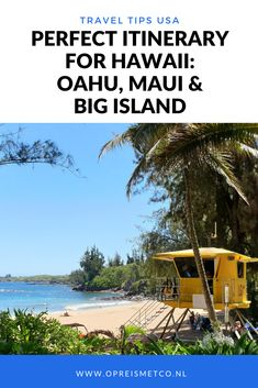 Whats the best itinerary for Hawaii? In this article Ill share my itinerary for 17 awesome days on Oahu Maui and Big Island. Hawaii Vacation, Maui Hawaii, Hawaii Travel, Kauai, Canada Travel, Travel Usa, Travel Guides, Travel Tips, Places To Travel