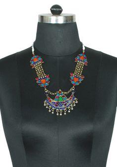 Tribal Afghan Necklace design 24 – Desically Ethnic
