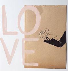 love the always inspiring work of artist rikkianne van kirk.