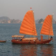 asian boat sails