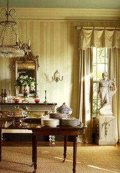 Suzanne Rheinstein Hancock Park home - Dining Room