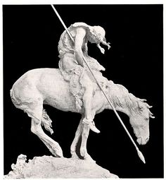 End of the Trail Sculpture ,James Earle Fraser,Native American Indian