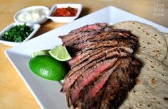 Dying to try this carne asada steak marinade!